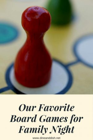 Our Favorite Board Games for Family Night!