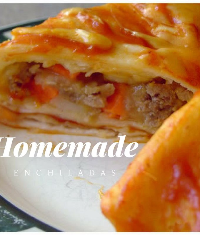 Homemade Enchiladas