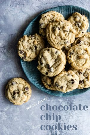 End the Search Chocolate Chip Cookie Recipe