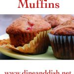 Strawberry Muffins Recipe from dineanddish.net
