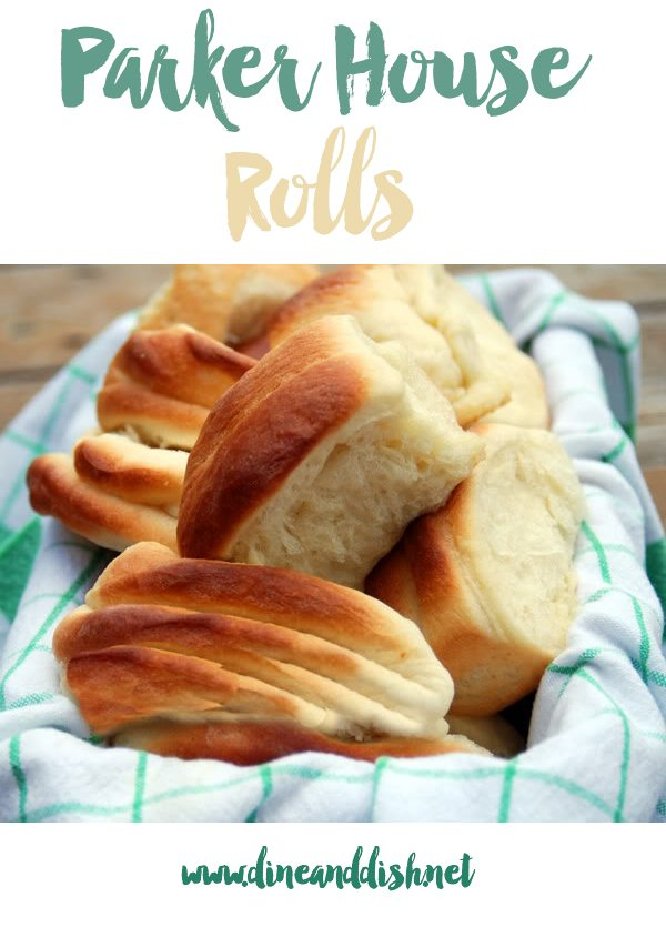 Parker House Rolls from dineanddish.net