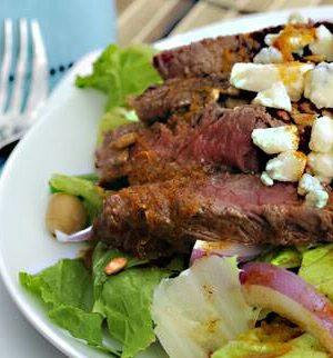 cajun beef southwest salad