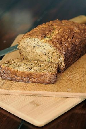 The best banana bread recipe - creates a moist, tender loaf of flavorful banana bread!