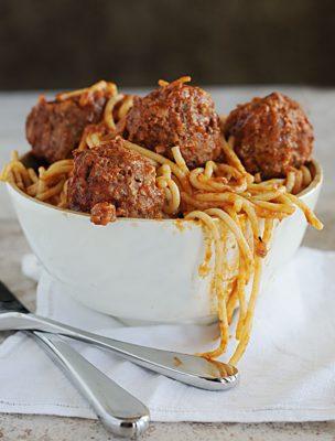 Mom's Spaghetti And Meatballs