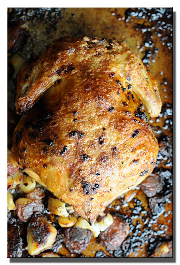 Martha Stewart Crisp-Skinned Roast Chicken