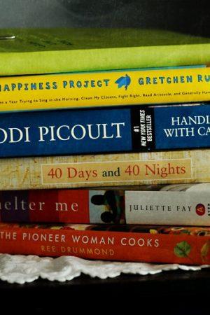 stacks of happy books