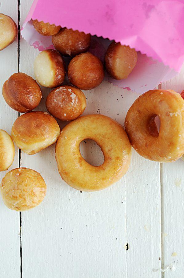 Homemade Yeast Doughnuts - Dine and Dish