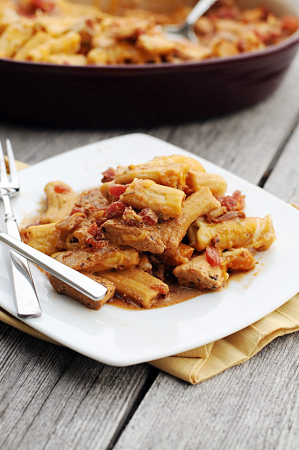 Rigatoni Chicken Pasta