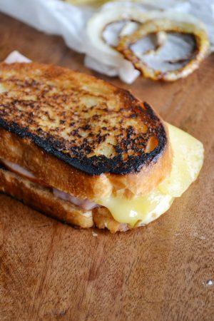 Jarlsberg Grilled Cheese Sandwich