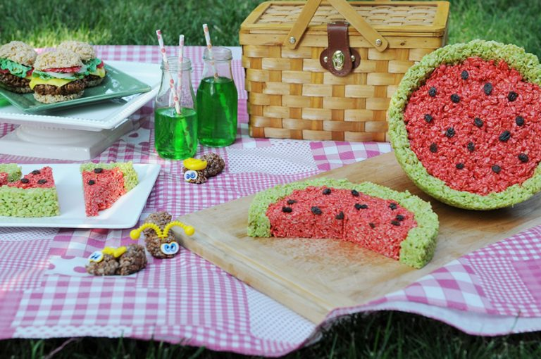 Rice Krispies treats - letsd have a fun Rice Krispies treats picnic!