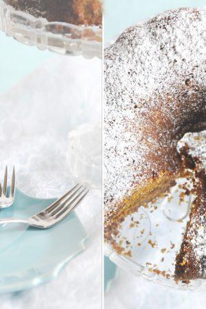 pumpkin oatmeal bundt cake