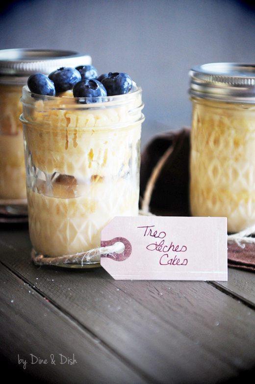 Desserts in Jars - Tres Leches Cake in a Jar Recipe