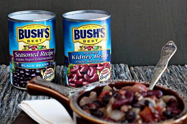Bush's Beans 2 Bean Steak Chili