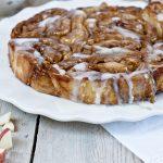 Breakfast Dessert Recipe Apple Cider Glazed Apple Pie Rolls