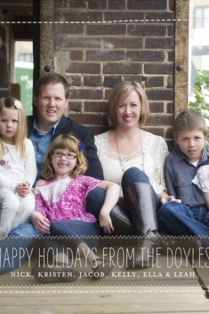 Merry Christmas from The Doyles