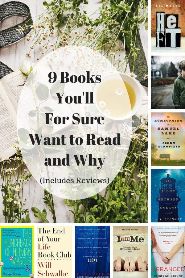 9 must read books!