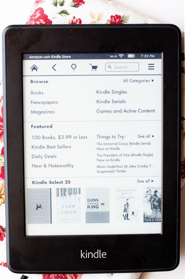 Kindle Paperwhite Home