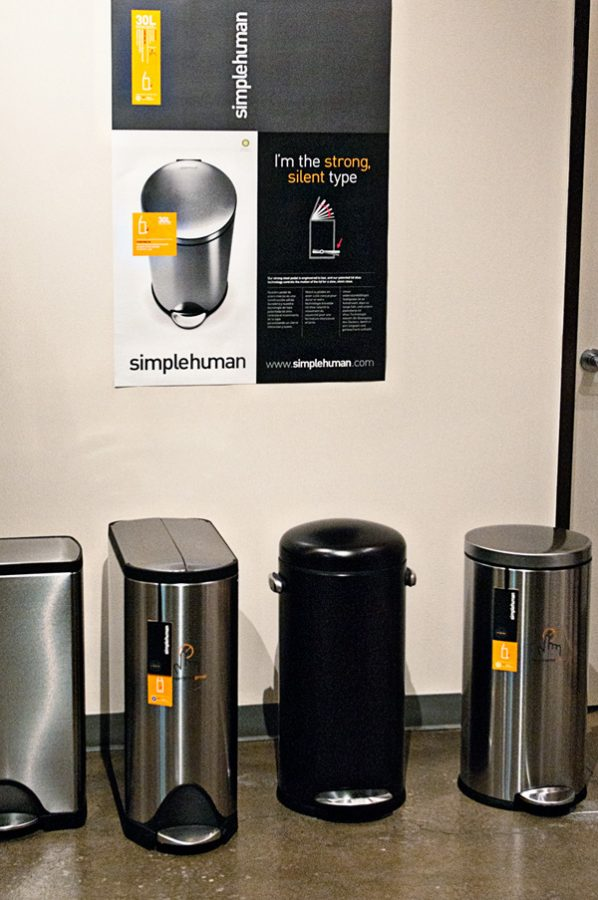 Simple Human Lineup of Innovative Trash Cans