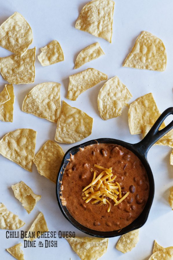 Bush's Chili Bean Cheese Queso from www.dineanddish.neta