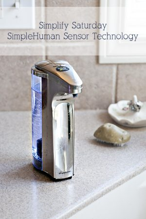 SimpleHuman Sensor Technology Soap Pump