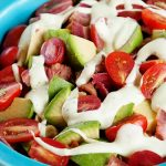 Bacon Avocado Tomato Pasta Salad