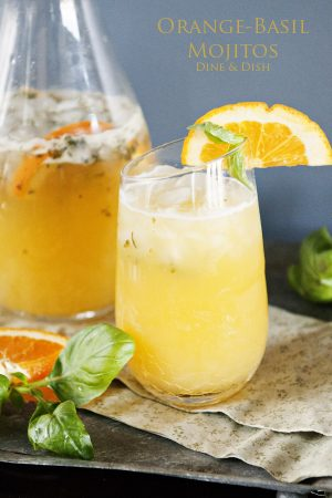 Orange-Basil Mojito Recipe Dine & Dish
