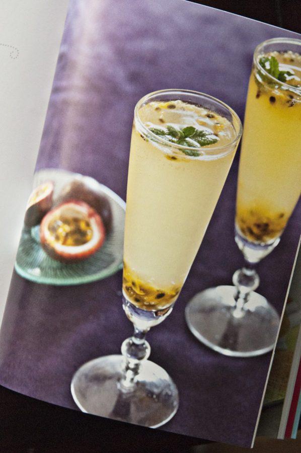 steamy kitchen cocktail - Mango Brulee