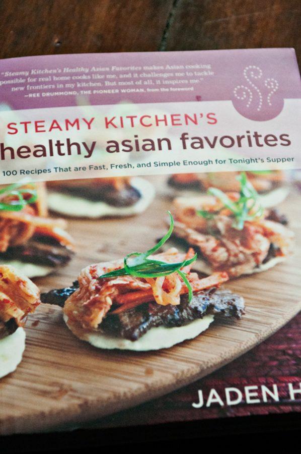 Healthy Asian Favorites Cookbook Cover - Mango Brulee
