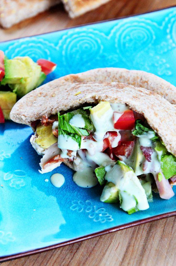 Cobb-Salad-Stuffed-Pita-2