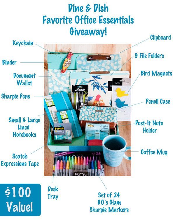 Fave Things Giveaway Pic Labeled
