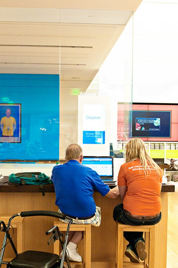 Tech Help at the Microsoft Store