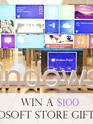 Microsoft Store $100 Giveaway