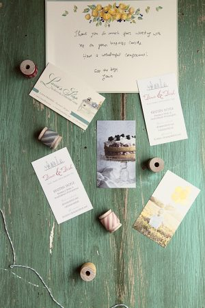 Dine and Dish Business Cards by Lana's Shop