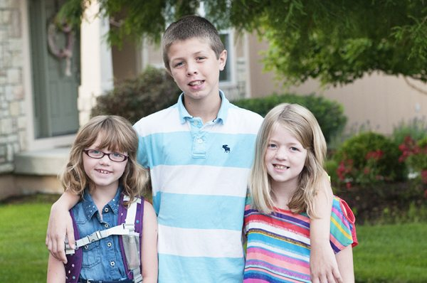 3 Kids 1st Day fb