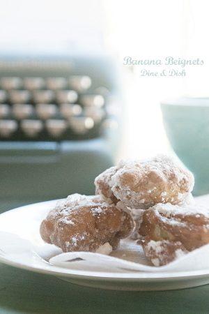 Banana Beignets Recipe from www.dineanddish.net