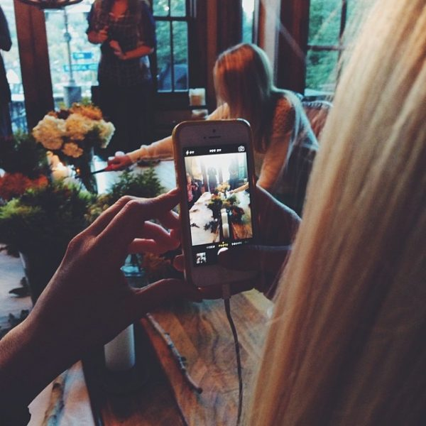 iphone pictures being taken
