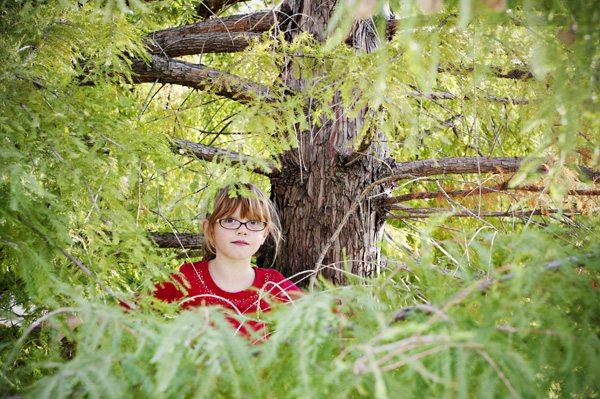 Ella in the tree