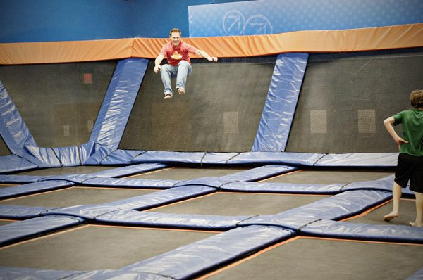 Nov 3 Nick Jumping at Sky Zone