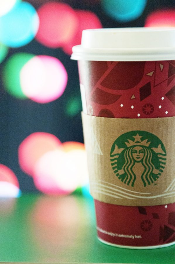 Starbucks Coffee Bokeh