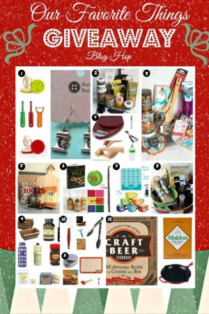 Food Bloggers Favorite Things Holiday Giveaway including an Erin Condren Planner