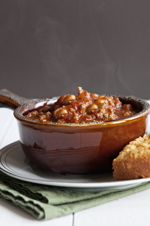 Our New Favorite Chili Recipe from dineanddish.net