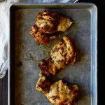 Zesty Mustard Chicken Thighs Recipe from dineanddish.net