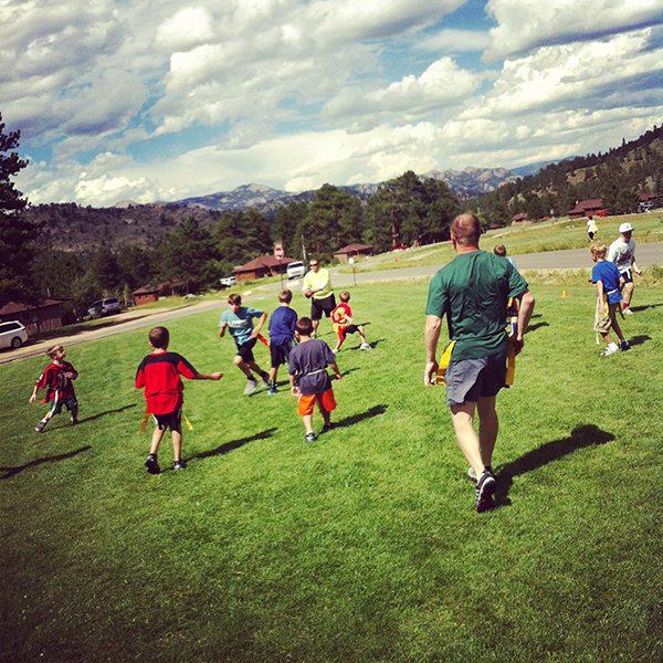 Flag Football at YMCA of the Rockies
