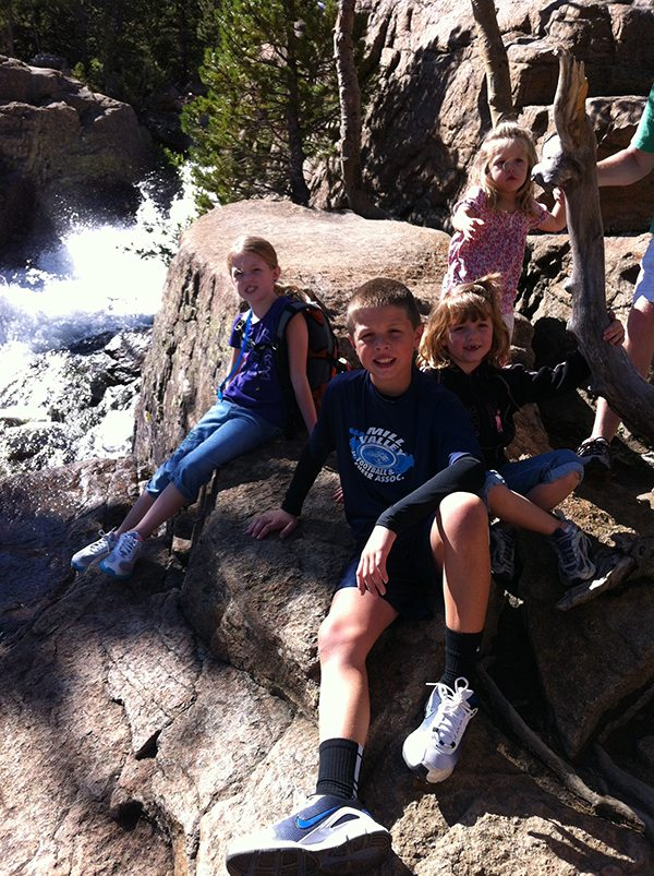 Kids-Alberta-Falls