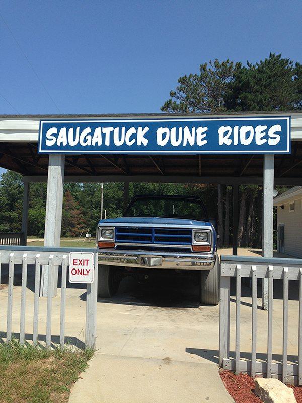 Saugatuck dune rides