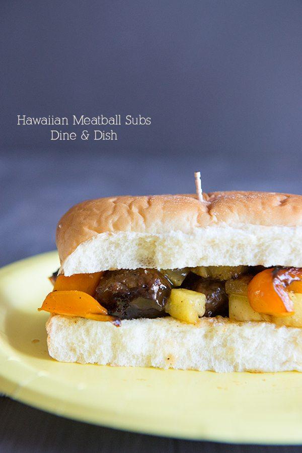 King's Hawaiian Meatball Sub from dineanddish.net