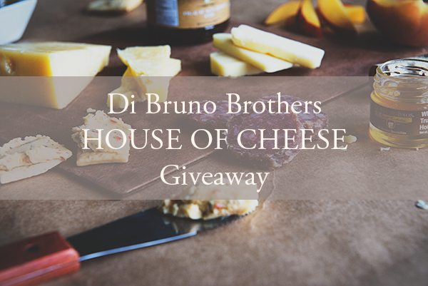 Di Bruno Brothers House of Cheese Cookbook and Gift Basket Giveaway on dineanddish.net