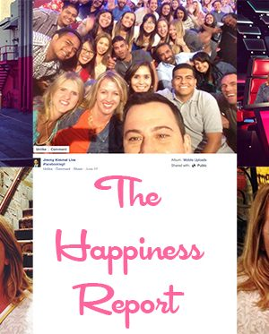 The Happiness Report Hollywood Edition