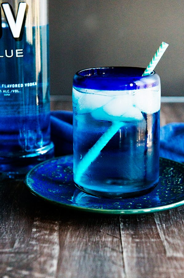 Kansas City Royals World Series Cocktail from dineanddish.net