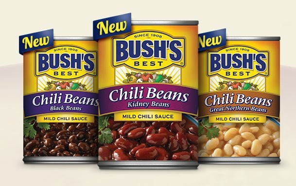 Bush's new chili beans